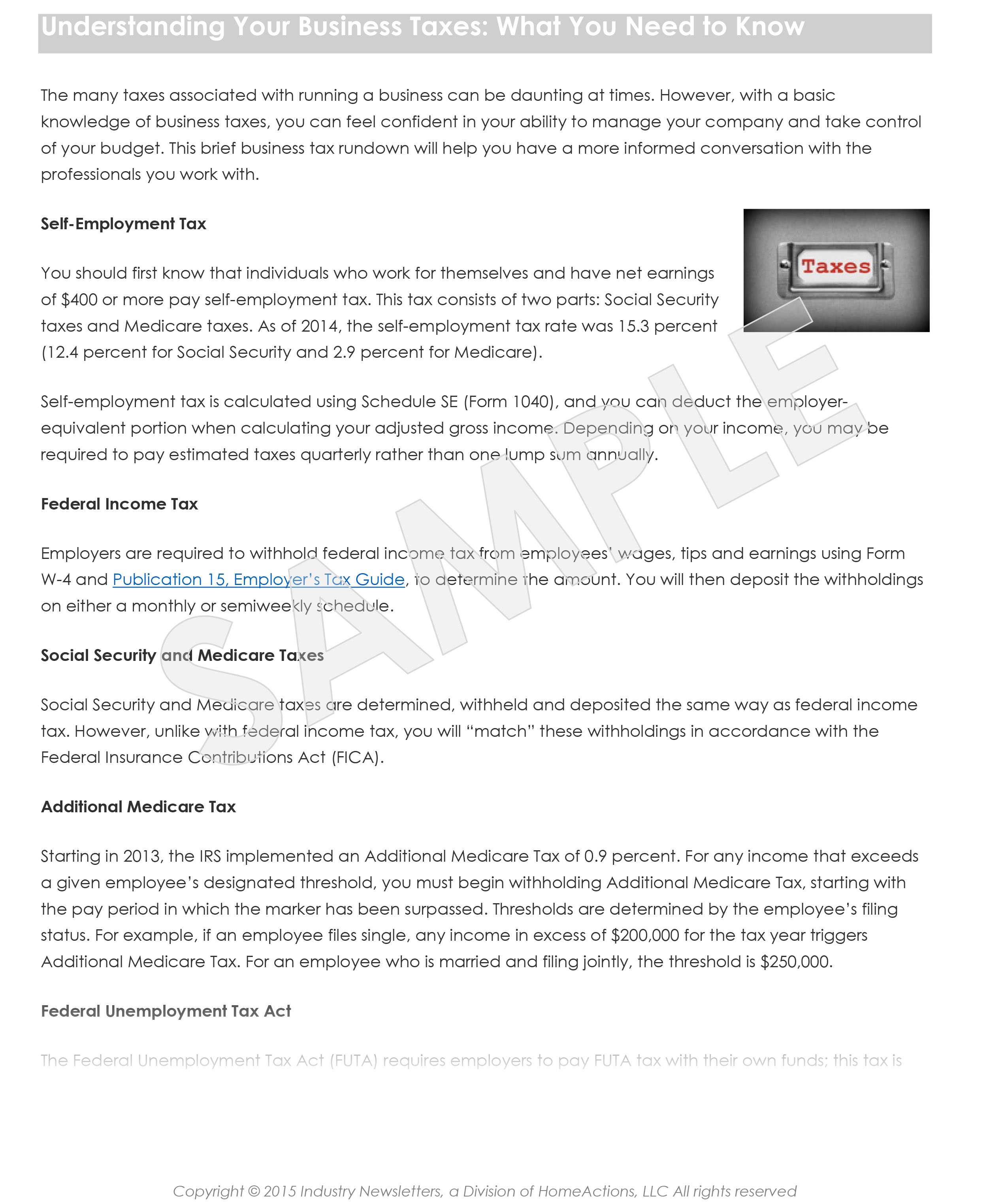 Payroll Issues Article Preview For Your Payroll Newsletter