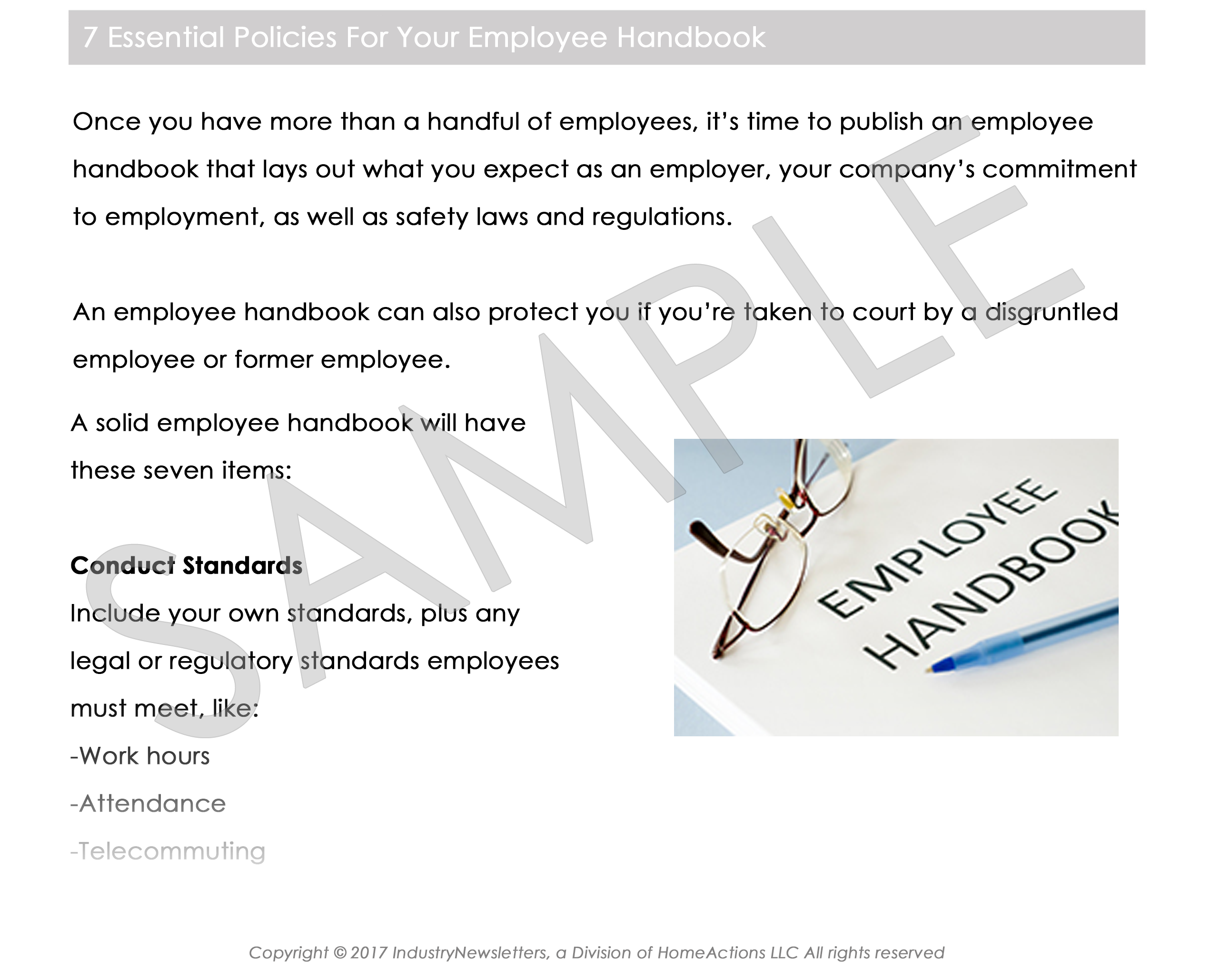 Human Resources Article Preview For Your PEO Newsletter