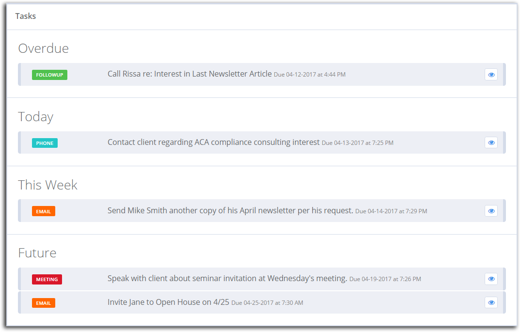 Tracking Email Marketing Tasks With CRM Tools