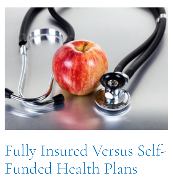 Top Article of This Cycle: Fully Insured Versus Self-Funded Health Plans