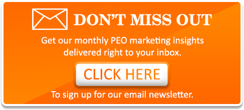 PEO Marketing Newsletter Sign Up